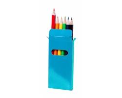 Dřevěné pastelky GARTEN, 6 ks - modrá