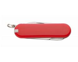 Multifunkční kapesní nůž CASTILLA s 6 funkcemi - červená