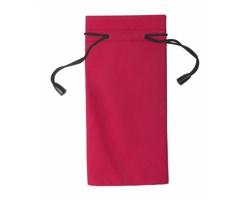 Polyesterový obal na sluneční brýle MILLA - červená / černá