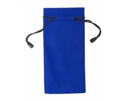Polyesterový obal na sluneční brýle MILLA - modrá / černá
