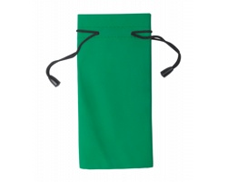 Polyesterový obal na sluneční brýle MILLA - zelená / černá