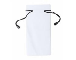 Polyesterový obal na sluneční brýle MILLA - bílá / černá