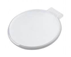 Plastové skládací zrcátko THINY - bílá / bílá