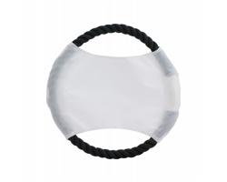 Látkové frisbee pro psy FLYBIT - bílá