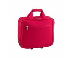 Polyesterová taška na kolečkách CUBIC - červená