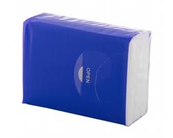 Třívrstvé papírové kapesníčky CUSTOM, 10 ks - modrá