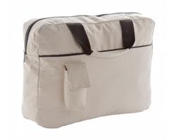 Polyesterová taška na dokumenty KONFER - béžová