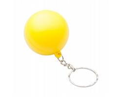 Antistresový přívěsek na klíče CALM - žlutá