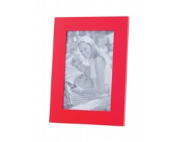 Dřevěný fotorámeček STAN, 10x15 cm - červená