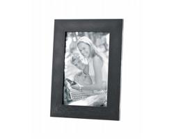 Dřevěný fotorámeček STAN, 10x15 cm - černá