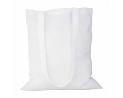 Bavlněná nákupní taška GEISER s dlouhými držadly - bílá