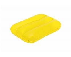 Plastový nafukovací polštářek EGEO - žlutá