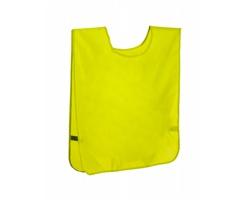 Polyesterová sportovní vesta SPORTER - žlutá