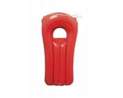 Nafukovací mini-lehátko WAVE - červená