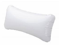 Plastový nafukovací polštář CANCUN - bílá
