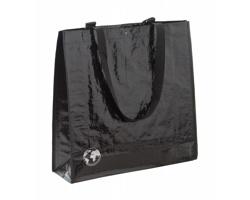 Nákupní taška RECYCLE z recyklovaného materiálu - černá