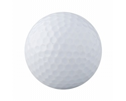 Plastový golfový míček NESSA - bílá