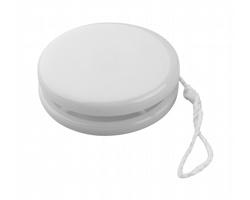 Plastové jojo MILUX - bílá