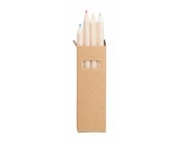 Sada pastelek TYNIE v papírové krabičce, 4 ks - přírodní / přírodní