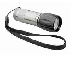 Kovová LED svítilna LUMOSH - černá