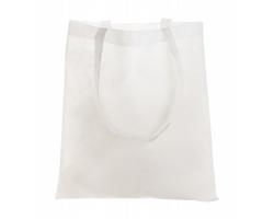 Nákupní taška MIRTAL z netkané textilie - bílá