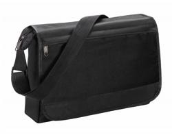 Polyesterová taška přes rameno ZUKAR - černá