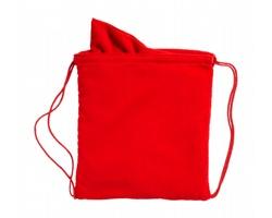 Ručník z mikrovlákna v pytlíku KIRK - červená