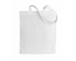 Nákupní taška JAZZIN z netkané textilie - bílá