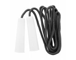 Polyesterové švihadlo DERIX s plastovými držadly - černá