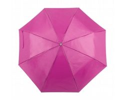 Mechanický skládací deštník ZIANT - růžová