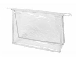 Kosmetická taštička LOSUT - transparentní / bílá