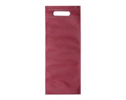 Taška na víno VARIEN z netkané textilie - tmavě červená
