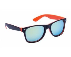 Plastové sluneční brýle GREDEL - oranžová / černá