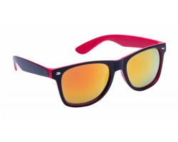 Plastové sluneční brýle GREDEL - červená / černá