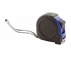 Plastový svinovací metr GRADE 5M - černá / modrá