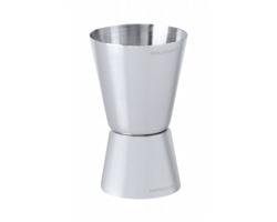 Kovová barmanská odměrka ROLEY - stříbrná