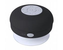 Plastový vodotěsný bezdrátový reproduktor RARIAX - černá / bílá