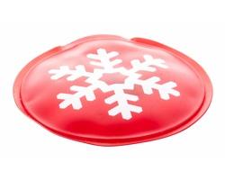 Hřejivý polštářek DEBY s vánočním motivem - červená