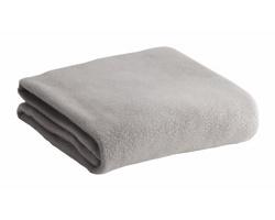 Fleecová deka MENEX - světle šedá