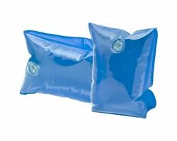 Dětské plastové nafukovací rukávky SANVI - transparentní modrá