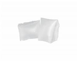 Dětské plastové nafukovací rukávky SANVI - matně bílá