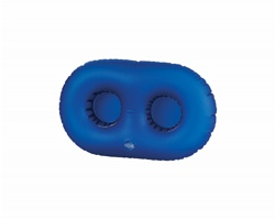 Plastový nafukovací držák na dvě plechovky SWANG - modrá