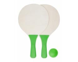 Set na plážový tenis TARIK - zelená