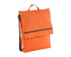 Polyesterová taška přes rameno MILAN - oranžová