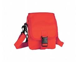 Malá taška PILUTO s nastavitelným popruhem - červená