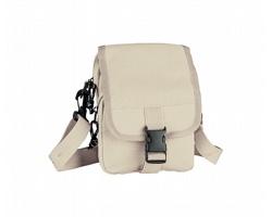 Malá taška PILUTO s nastavitelným popruhem - béžová