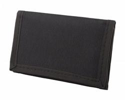 Polyesterová peněženka FILM na suchý zip - černá