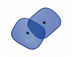 Plastové sluneční clony RIDE na boční skla auta - modrá