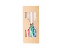 Sada tužky a pastelek ALADIN - vícebarevná
