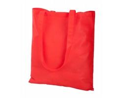 Látková nákupní taška FAIR z netkané textilie - červená